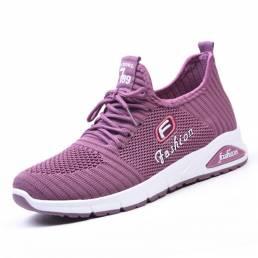 Zapatillas de deporte ocasionales transpirables para mujer