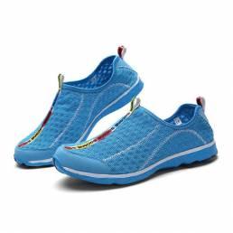 Unisex Calzado deportivo Calzado de agua Casual Transpirable al aire libre Cómodos zapatos atléticos de malla