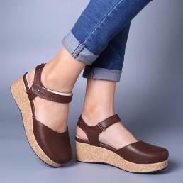 Plataforma Casual Moda Mujer Sandalias