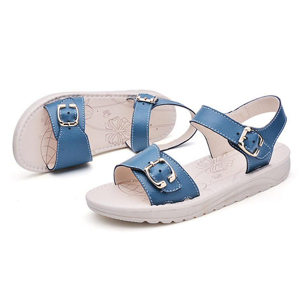 Mujer Verano Sandalias Suela blanda antideslizante Playa Zapatos