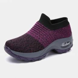 Mujer al aire libre Zapatillas mecedoras de malla transpirable