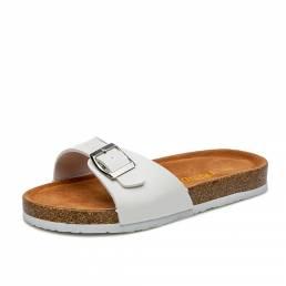 Mujer Casual Playa Plataforma con punta abierta zapatillas Corcho Sandalias
