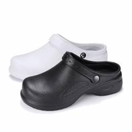 Mujer Médico Cocina de enfermería Resbalón en cómodos zapatos de trabajo antideslizantes ligeros Pisos