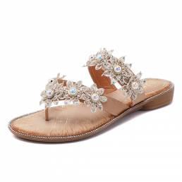 ZapatosdefloresdeperlasInformal zapatillas