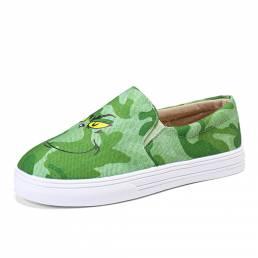 Zapatos de skate de punta redonda con estilo informal de gran tamaño para mujer