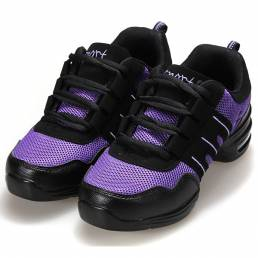 Zapatos modernos de baile de hip-hop de jazz zapatillas deportivas transpirables