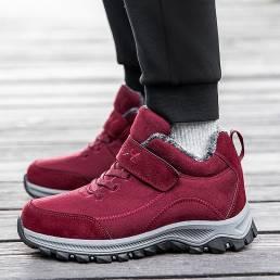 Zapatos para caminar casuales con lazo Gancho antideslizantes de malla transpirable para mujer