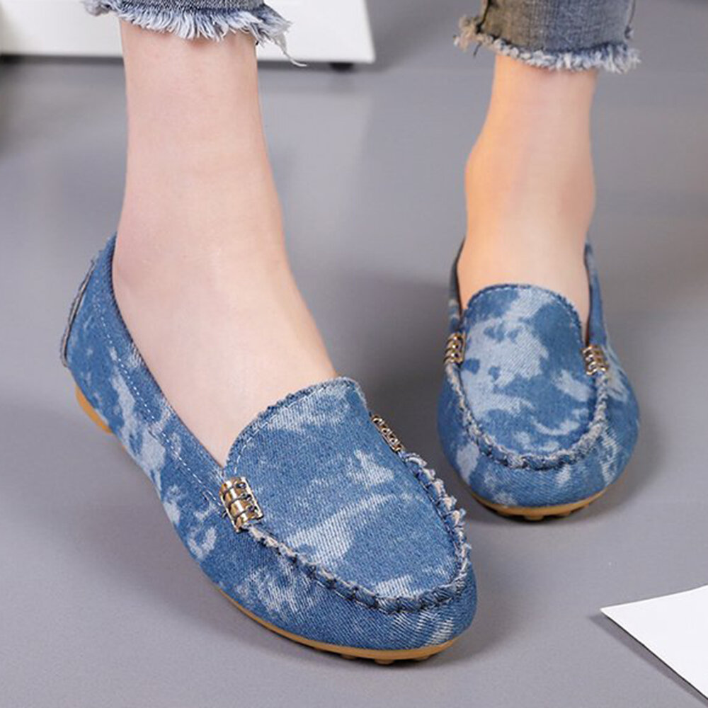 Sliping antideslizante para mujer Soft Slip casual con mocasines