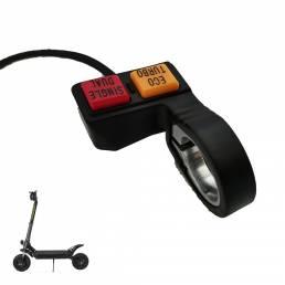 BOYUEDA Scooter eléctrico Interruptor de doble accionamiento Interruptor del manillar Cambio