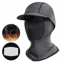 WHEEL UP Bike Head Scarf Universal Face Mascara Invierno Cálido a prueba de rayos UV Sombrero Transpirable Resistente al