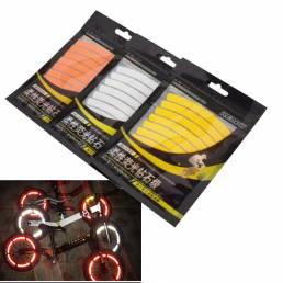 BIKIGHTNiñosEquilibriodelbordede la bicicleta pegatinas reflectantes 3M Accesorios de bicicleta cinta reflectante