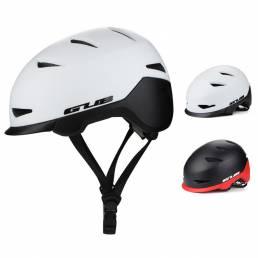 GUB CITY RACE Casco de bicicleta en molde transpirable EPS Bicicleta Unisex Casco a prueba de golpes Ajustable Sombrero