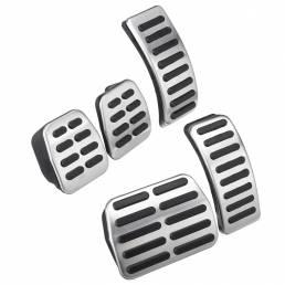 Almohadilla del pedal del coche Almohadillas de acero inoxidable Pie para VW Polo Golf 4 Bora Beetle RSi GTI R32 / Audi