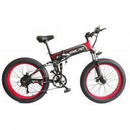 SMLRO S11 48V 10Ah 500W 26in Bicicleta eléctrica plegable 30 km / h Velocidad máxima 60 km Bicicleta de montaña Biciclet