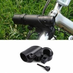 BIKIGHTBicicletaBicicletaTitulardela linterna Soporte de montaje 360 ° Rotary Cycling Light Clip Ajustable Abraza