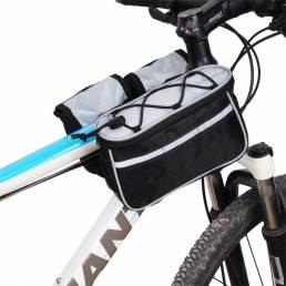 Cuadro de bicicleta Tubo delantero Bolsa Impermeable Bicicleta MTB Bolsa Ciclismo
