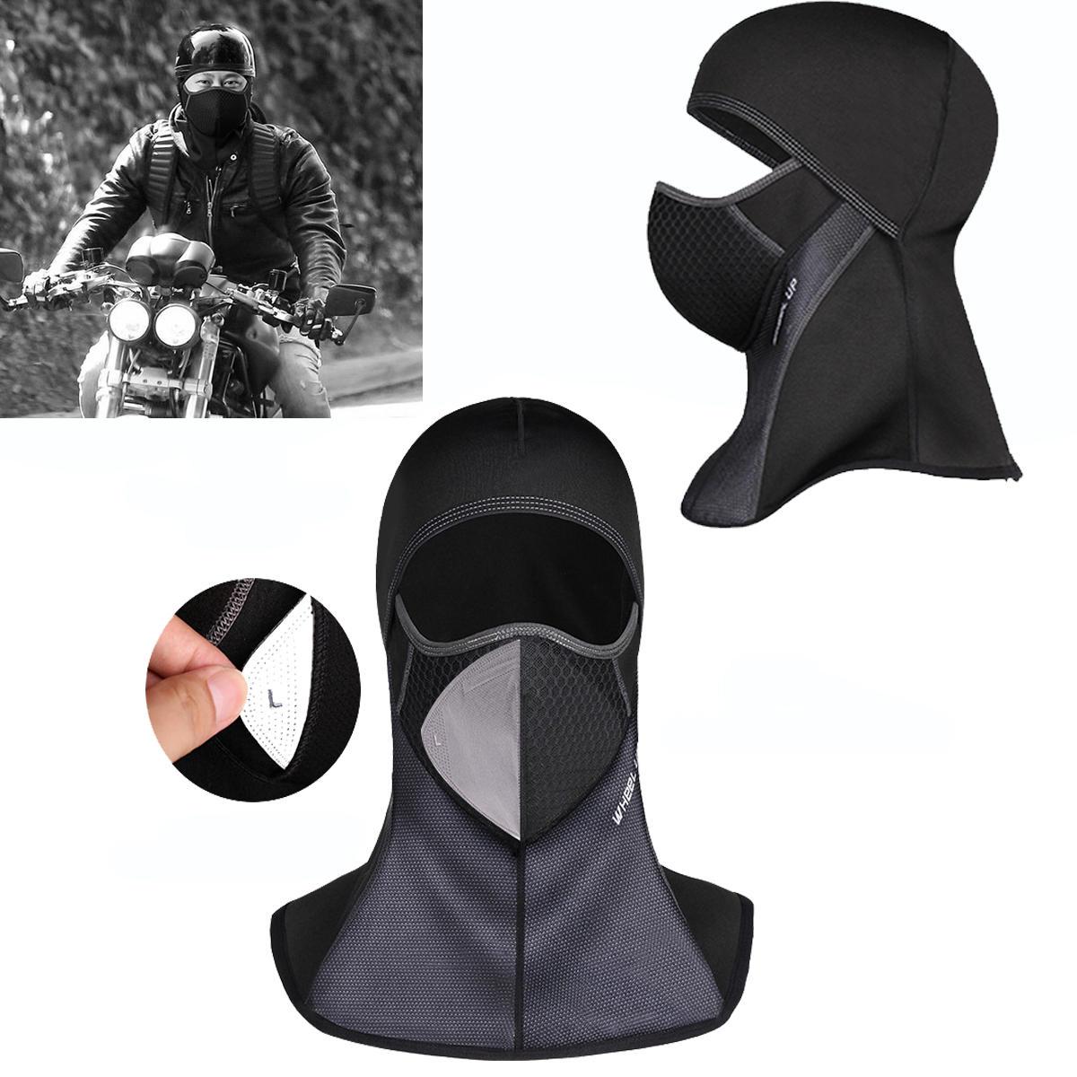 WheelupWinterWarmSkiMotorcycly Cycling Face Mascara Casco Cap Paraviento Polar Balaclava Sombrero