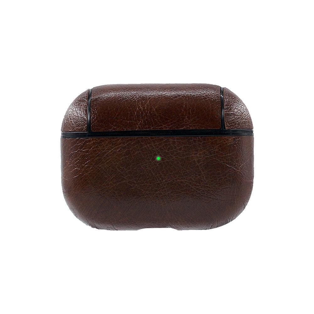Bakeey Luxury PU Leather Shockproof Auricular Almacenamiento Caso con Anti-lost Cuerda y KeyChain para Apple Airpods 3 A