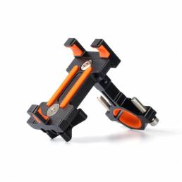 BH01 AL6061-T6 Soporte de teléfono para bicicleta Soporte para teléfono GPS Dispositivo hasta 6.5 Inch Choque antidesliz