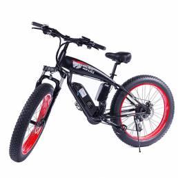 SMLRO S10 48V 17.5Ah 750W 26in neumático gordo ciclomotor eléctrico bicicleta 35 km / h bicicleta eléctrica de alta velo