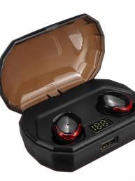 [Bluetooth 5.0] Auriculares inalámbricos verdaderos TWS Llamadas bilaterales estéreo IPX7 Impermeable Auricular Auricula