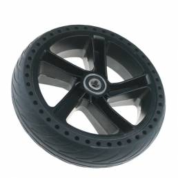 BIKIGHT Juego de neumáticos de cubo de rueda para Ninebot ES1 ES2 ES3 ES4 Scooter eléctrico Aleación de aluminio antides