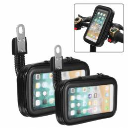 BIKIGHT Universal Electric Bicycle Handlebar Phone GPS Soporte antideslizante Agarre de goma Impermeable Moto Soporte pa