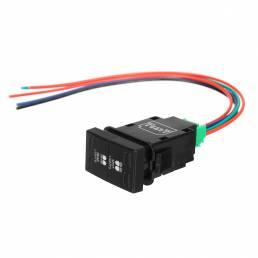 LED Spot Light Bar Conducción trasera Luz antiniebla Interruptor de doble botón para Ford Ranger PX para Mazda BT50 2011