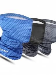 WHEEL UP Bufanda de seda de hielo Protector solar sin costuras a prueba de viento Toalla Montar Mascara Pañuelo al aire