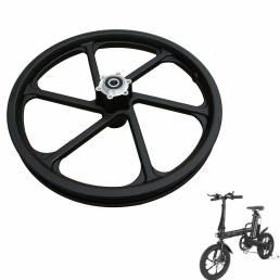 Buje de rueda delantera de aleación de aluminio CMSBIKE de 16 pulgadas para bicicleta eléctrica CMSBIKE F16 F16-PLUS