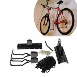 Estante de bicicletas de almacenamiento de montaje en rack de gancho de suspensión Garaje de la pared de soporte de la b