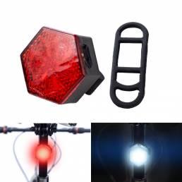 BIKIGHT USB recargable Bike Tail Light Impermeable Ultra Bright LED Luces de bicicleta para MTB Road Bike