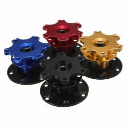 Universal Coche Anillo de acero de la rueda de liberación rápida HUB Racing Adaptador Snap Off Boss Kit