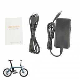 42V 2A Bike Cargador inteligente 220V Enchufe de la UE Bicicleta de plomo ácido Batería para FIIDO D11