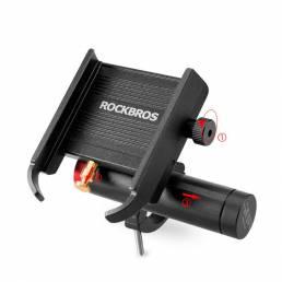 ROCKBROS YQ-001 Soporte para manillar / espejo retrovisor Tipo Soporte para teléfonos de 3.5-6.5 pulgadas al aire libre