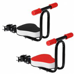 BIKIGHT Bicicleta Silla para niños Asiento deportivo Asiento delantero de bicicleta plegable con sillines acolchados par