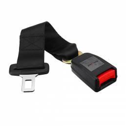Banggood 1Pcs Universal 14 Inch Coche Asiento de seguridad Cinturón Extensión Negro Hebilla