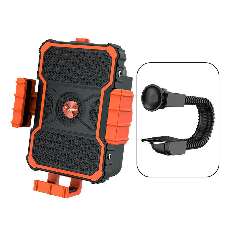BIKIGHT Soporte para teléfono de bicicleta Soporte universal para teléfono de bicicleta Clip de teléfono GPS Moto Soport