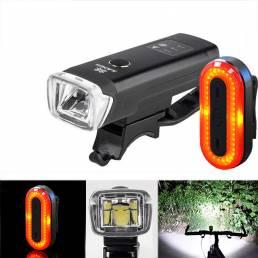 XANESSFL03600LMXPGLEDLuz de bicicleta de inducción inteligente STL03 100LM IPX8 Lámpara de