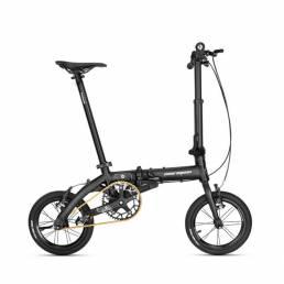ROCKBROS Bicicleta plegable ligera de 14 pulgadas Mini Bicicletas de freno en V de altura ajustable para hombres y mujer