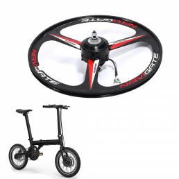 300W 36V 16 pulgadas Bicicleta motor Ruedas Ruedas traseras de bicicleta Ciclismo Accesorios para bicicletas