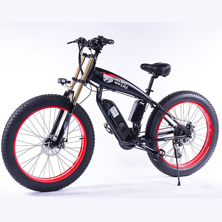 SMLRO S10 PLUS 48V 13Ah 500W 26in Bicicleta eléctrica de ciclomotor 35 km / h Bicicleta eléctrica de alta velocidad Bici