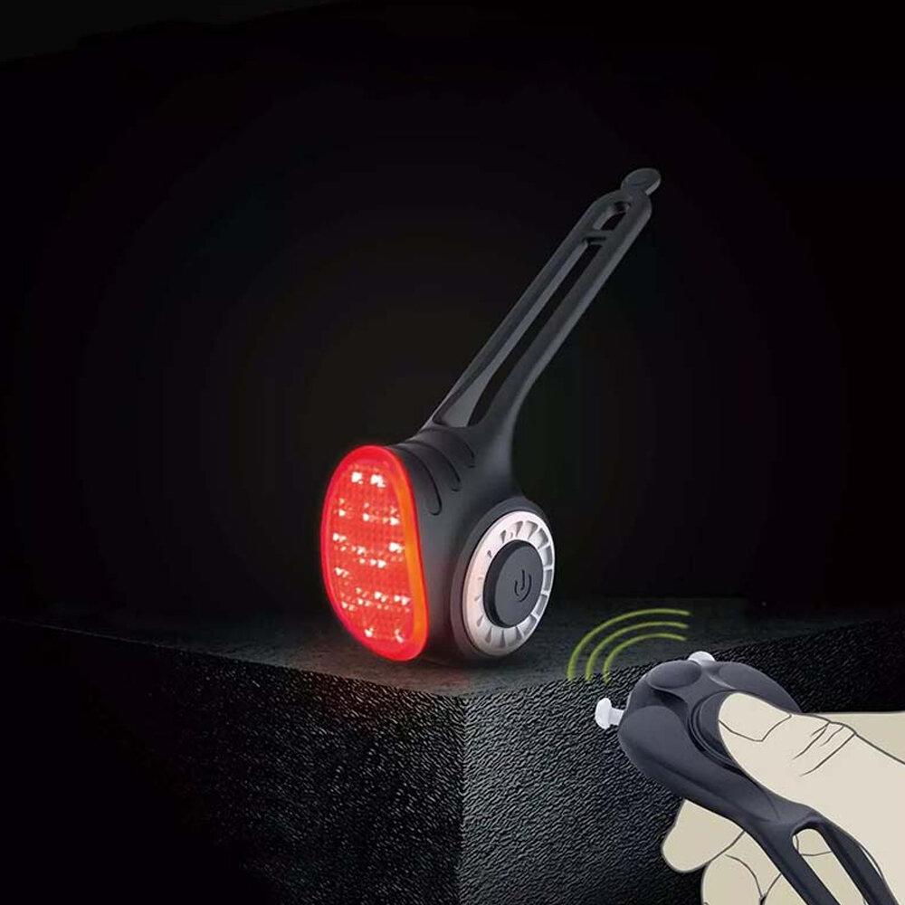 MEILAN S3 Luz trasera inalámbrica para bicicleta Campana de alarma antirrobo inteligente Control remoto Cola de segurida