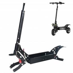 Para BOYUEDA 10 Inch Scooter eléctrico Type C Marco de horquilla delantera Aleación de aluminio Accesorios de scooter el