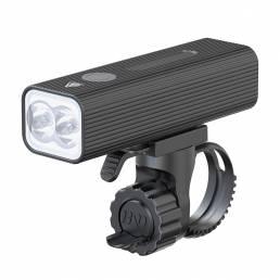 XANES® P12 5-Modos L2 LED Luz de bicicleta Luz trasera Carga USB Luz delantera de bicicleta 500 M Faro de ciclismo de la