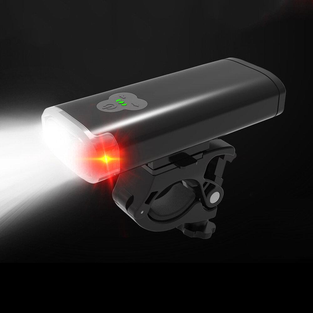 XANES® 2 / 3xT6 2400 / 3600lm Faro de bicicleta 4 modos 4000mAh USB recargable Impermeable Linterna de bicicleta Banco d