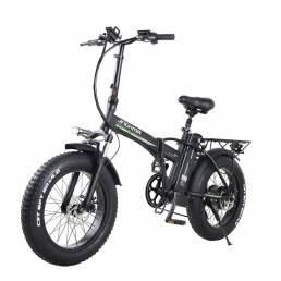 Bicicleta eléctrica de nieve JINCHMA R8 20in 15Ah 48V 350W bicicleta eléctrica ciclomotor 40 km / h velocidad máxima 110