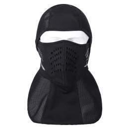 AUDEW Peso ligero a prueba de viento Mascara Respirable invierno esquí cara Mascara para casco de ciclismo Moto