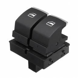 Interruptor de control de la ventana de la energía eléctrica del lado del conductor para VW Golf EOS MK5 MK6 2 puertas