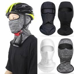 Cabezadeciclismodesedacara bufanda Mascara a prueba de sol Anti UV Hombres transpirables M